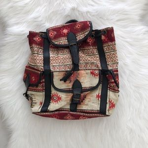 Handbags - Beautiful Boho Chic Turkish Tapestry Backpack
